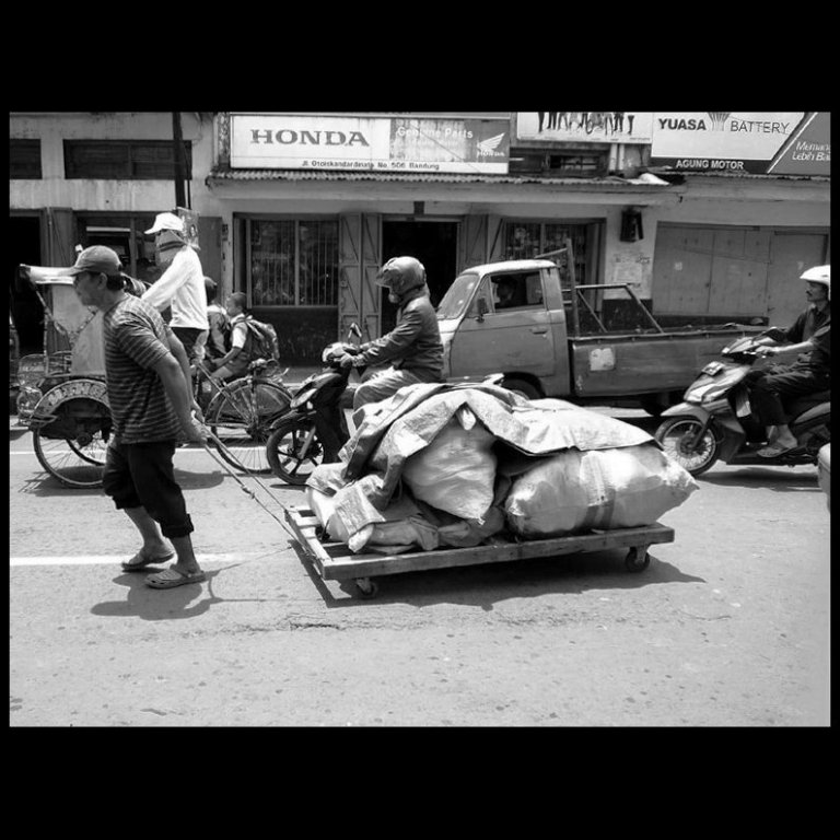 everybody is doing a hard work (bandung). salute.