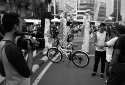 Street talkshow.