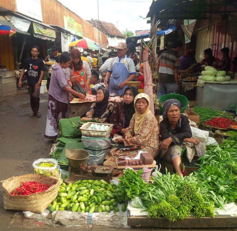 Penjual Sayur Wildan