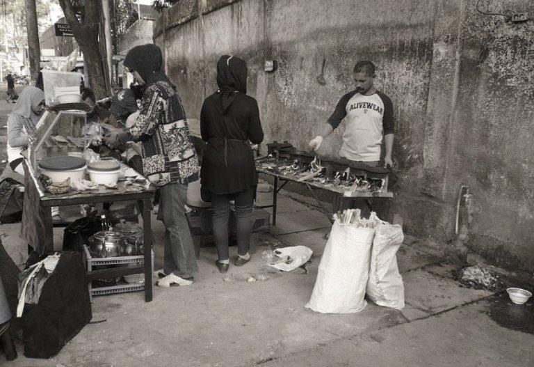 Penjual Surabi di Bandung  Anwar Holid